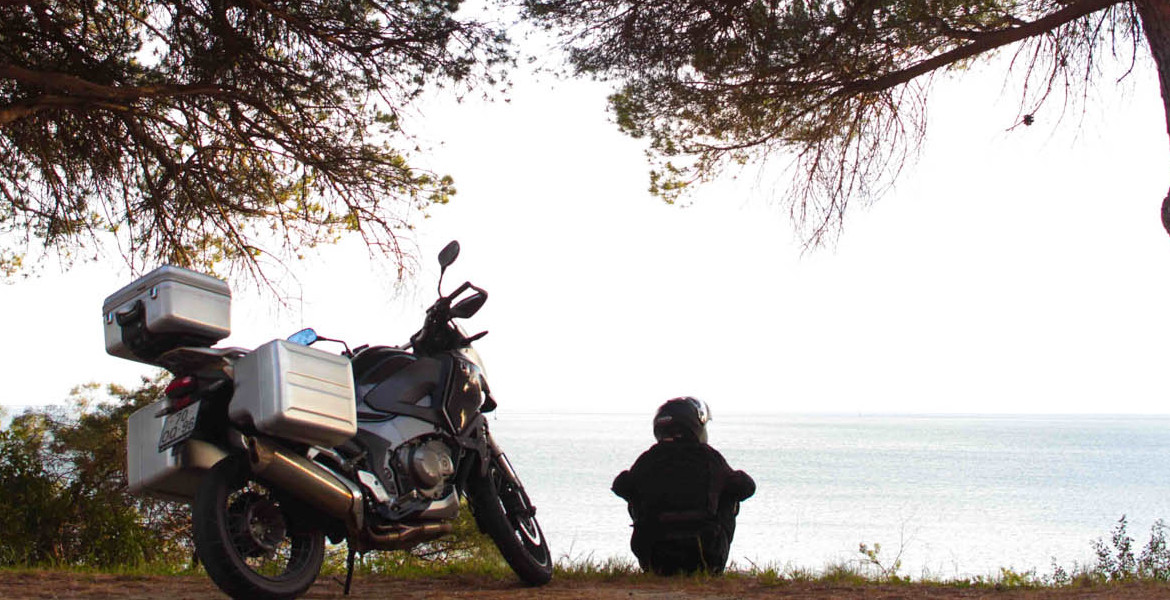 touring alone